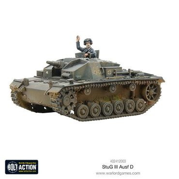 Early Stug D 28mm – Bild 2