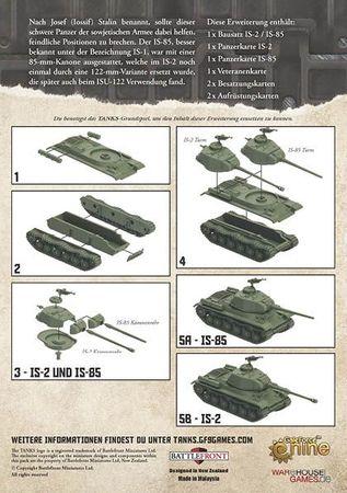 TANKS Soviet IS-2 / IS-85 Erweiterung (Deutsch) – Bild 4
