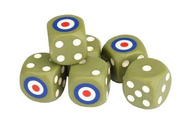 TANKS British Dice Set 16mm (6) – Bild 1