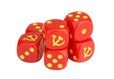 TANKS Soviet Dice Set 16mm (6) – Bild 1