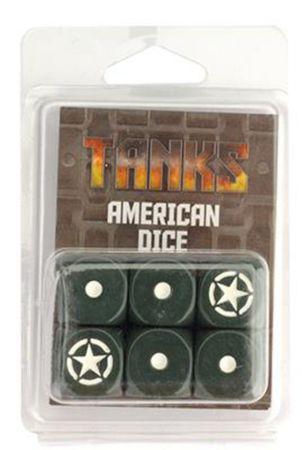 TANKS US Dice Set 16mm (6) – Bild 2