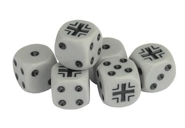 TANKS German Dice Set 16mm (6) – Bild 1