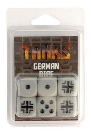 TANKS German Dice Set 16mm (6) – Bild 2