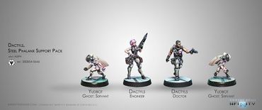 ALEPH Dactyls, Steel Phalanx Support Pack