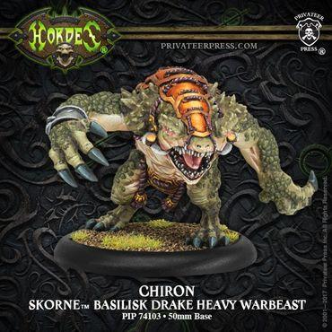 Skorne Chiron Basilisk Drake Heavy Warbeast