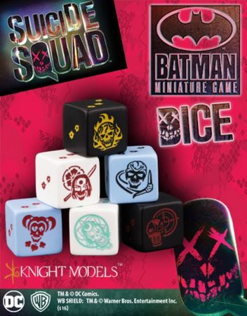 Suicide Squad Dice Set (5)
