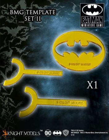 Batman Miniature Game Templates Set 2 (3)