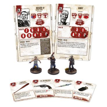 The Walking Dead Negan Booster (Englisch) All Out War – Bild 2