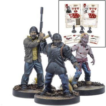 The Walking Dead Tyreese Booster (Englisch) All Out War – Bild 1
