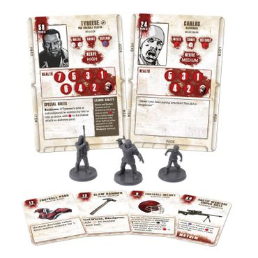 The Walking Dead Tyreese Booster (Englisch) All Out War – Bild 2