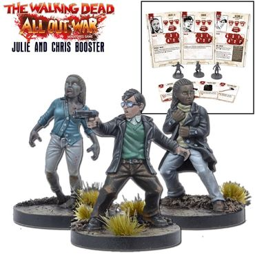 The Walking Dead Julie and Chris Booster (Englisch) All Out War