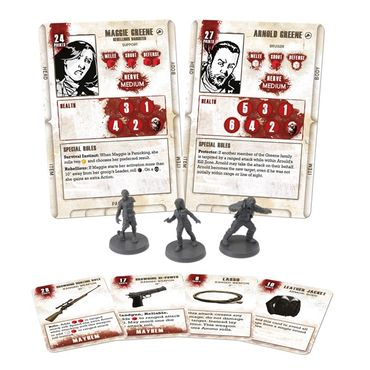 The Walking Dead Maggie Booster (Englisch) All Out War – Bild 2