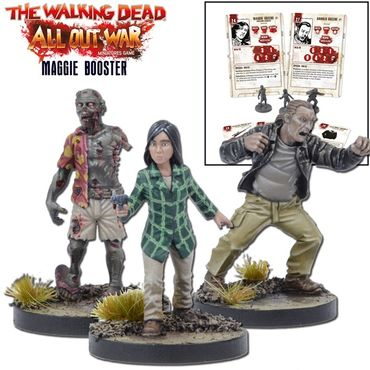 The Walking Dead Maggie Booster (Englisch) All Out War – Bild 1