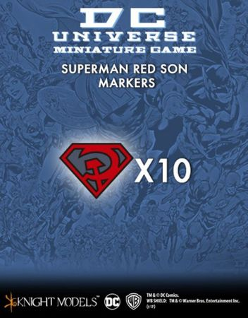 Superman Red Son Markers (10)