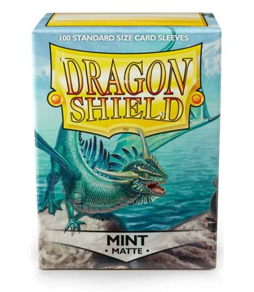 Dragon Shield Matte Mint 100 protective Sleeves – Bild 1