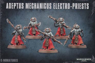 Adeptus Mechanicus Fulgurite / Corpuscarii Electro Priests