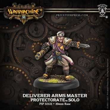 Protectorate of Menoth Deliverer Arms Master Solo