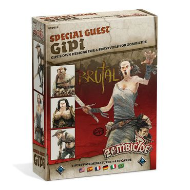 Zombicide Black Plague Special Guest Box Gipi