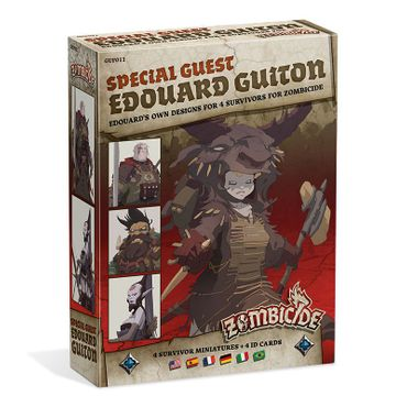 Zombicide Black Plague Special Guest Box Edouard Guiton