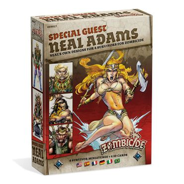 Zombicide Black Plague Special Guest Box Neal Adams