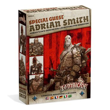 Zombicide Black Plague Special Guest Box Adrian Smith