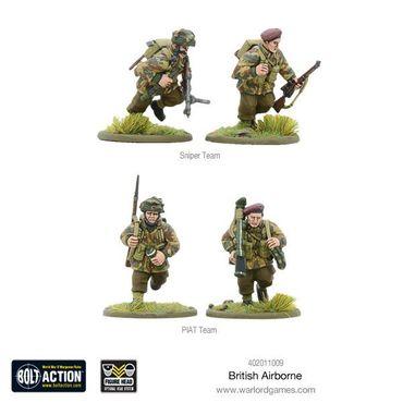 British Airborne WWII Allied Paratroopers 28mm – Bild 6