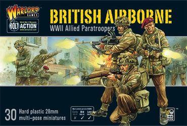 British Airborne WWII Allied Paratroopers 28mm – Bild 1