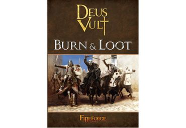 Deus Vult Burn and Loot Rulebook (Englisch) – Bild 1