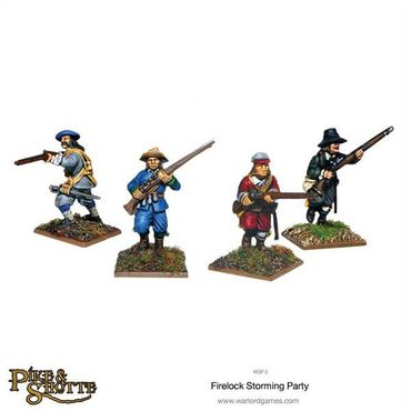 Pike & Shotte Firelock Storming Party 28mm – Bild 3