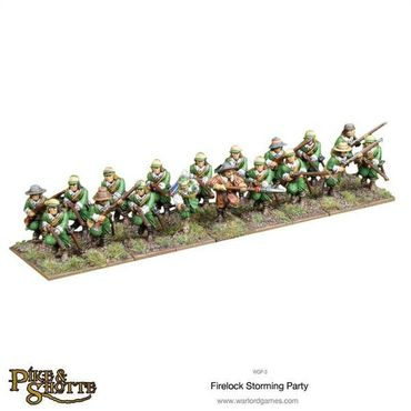 Pike & Shotte Firelock Storming Party 28mm – Bild 2