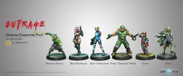Infinity Outrage Characters Pack – Bild 1