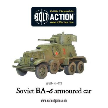 BA-6 Armoured Car 28mm – Bild 2