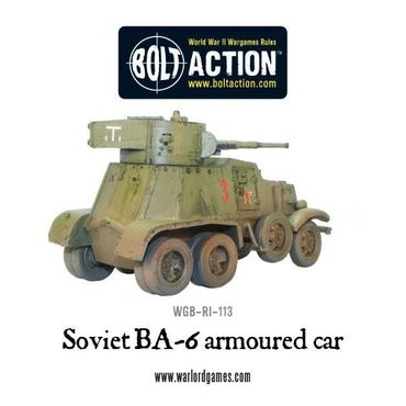 BA-6 Armoured Car 28mm – Bild 3