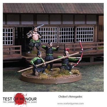 Test of Honour Chōbei's Renegades 28mm – Bild 5