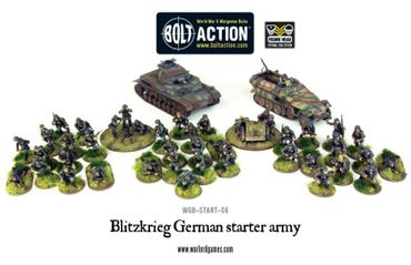 Bolt Action Starter Army - Blitzkrieg German 28mm – Bild 2