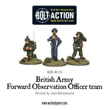 British Army Forward Observer Team 28mm