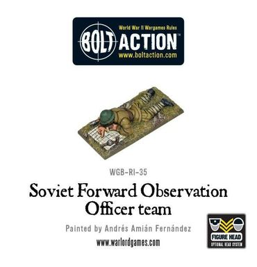 Soviet Army Forward Observer Team 28mm – Bild 3