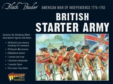 American War of Independence British Army Starter Set – Bild 1