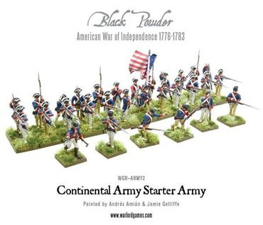 American War of Independence Continental Army Starter Set – Bild 3