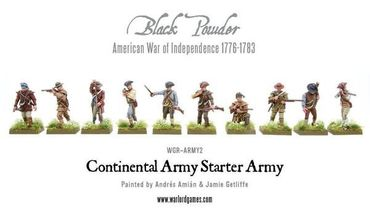 American War of Independence Continental Army Starter Set – Bild 6