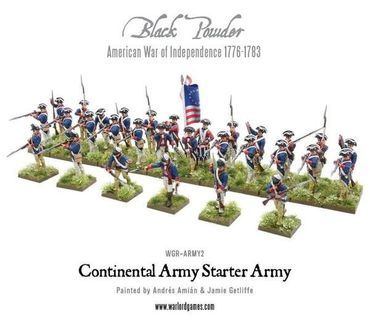 American War of Independence Continental Army Starter Set – Bild 4