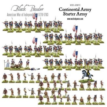American War of Independence Continental Army Starter Set – Bild 2
