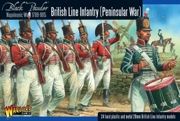 British Line Infantry Peninsular War 28mm – Bild 1