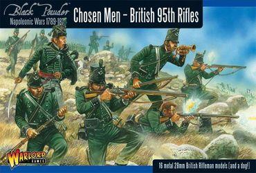British 95th Rifles Chosen Men 28mm – Bild 1