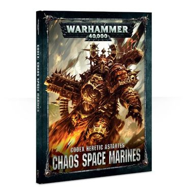Chaos Space Marines Codex (Deutsch)