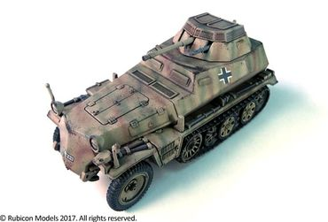 SdKfz 250/251 Expansion Set for SdKfz 250/9 and 251/23 Autocannon 1/56 (28mm) – Bild 3
