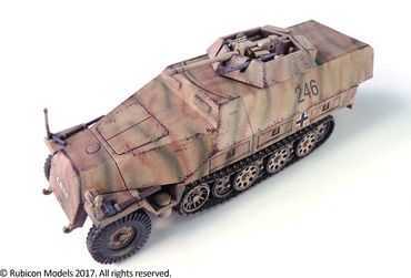 SdKfz 250/251 Expansion Set for SdKfz 250/9 and 251/23 Autocannon 1/56 (28mm) – Bild 4