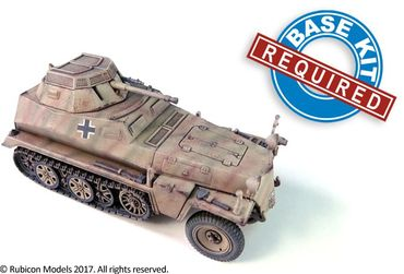 SdKfz 250/251 Expansion Set for SdKfz 250/9 and 251/23 Autocannon 1/56 (28mm) – Bild 2