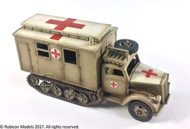 SdKfz 305/3a Expansion Set for SdKfz 305 Blitz and 3a Maultier Box Body 1/56 (28mm) – Bild 2