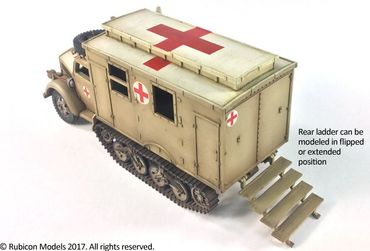 SdKfz 305/3a Expansion Set for SdKfz 305 Blitz and 3a Maultier Box Body 1/56 (28mm) – Bild 5
